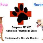 Outubro Rosa & Novembro Azul dos Pets – Castração é um ato de amor por eles!