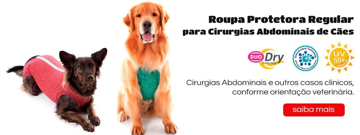 "<font style=""vertical-align: inherit;""><font style=""vertical-align: inherit;"">Roupa Protetora – Duo Dry Regular para Cães</font></font>"