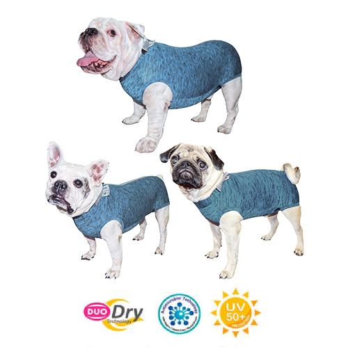 Roupa Protetora Duo Dry Fit Castração Cães Macho