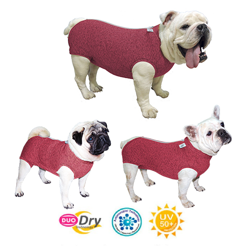 Roupa Protetora Duo Dry Fit Regular para Cães - Pet Med
