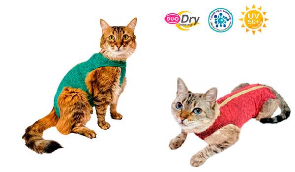 Roupa Protetora - Duo Dry Regular Gatos