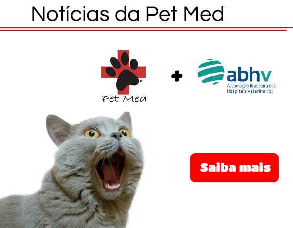 Pet Med anuncia parceria com a Associação Brasileira de Hospitais Veterinários (ABHV)